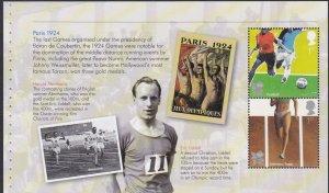 2822a 2012 Olympics Booklet Pane MNH