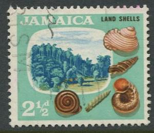 Jamaica -Scott 220 - Definitive Issue -1964 - Used - Single 2.1/2p Stamp
