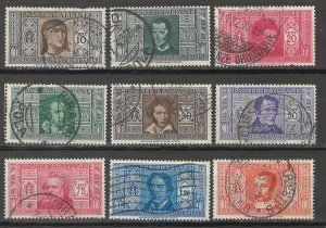 COLLECTION LOT # 5414 ITALY #268-276 1932 CV+$29