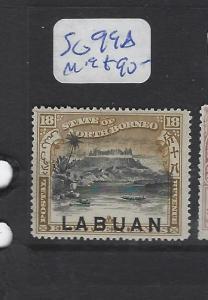 LABUAN  (PP2307B)   18C MOUNTAIN SG 99A   MOG