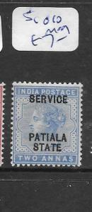 INDIA PATIALA (P0702B)  QV   SERVICE 2A  SG O10  MOG