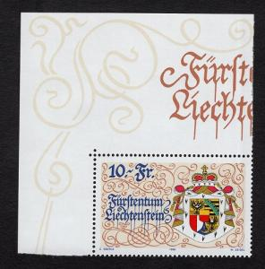 Liechtenstein  #1088   1996  MNH  new constitution  arms