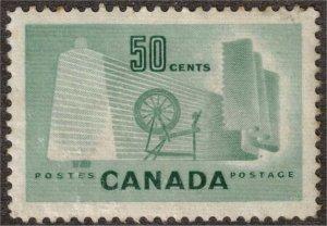 CANADA - 50c Textile Industry 1953 SC334 Mint
