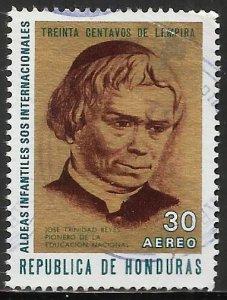 Honduras Air Mail 1972 Scott# C522 Used (corner creased)