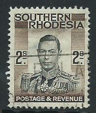 Southern Rhodesia SG 50  Used