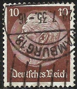 Germany 1934 Scott# 421 Used wmk 237