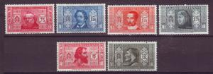 J21550 Jlstamps 1932 italy hv,s of set mh #274-9 famous prople, 2 scans