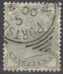 Great Britain #78 F-VF Used CV $13.50  (S2770)