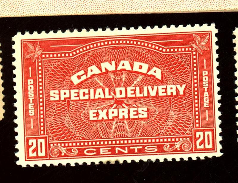 Canada #E5 MINT F-VF OG LH Cat $60