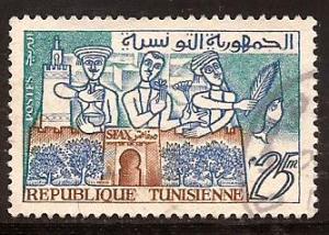 Tunisia  #  352  used