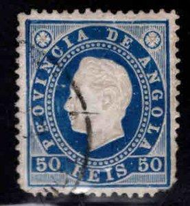 Angola  Scott 21 used stamp CV$4