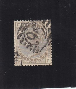 Great Britain: Sc #84, Used, PL #17 (34085)