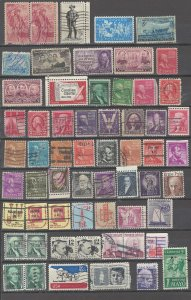 COLLECTION LOT # 37 UNITED STATES 103 STAMPS CLEARANCE
