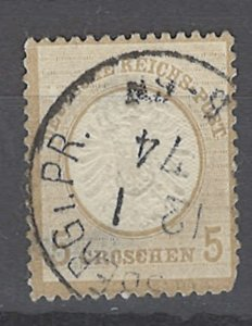 COLLECTION LOT # 2055 GERMANY  #20 1872 CV=$30