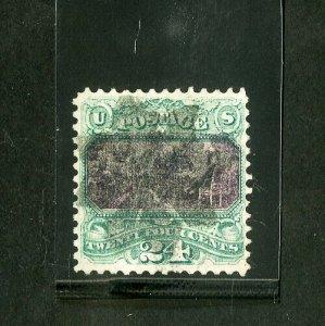US Stamps # 120 Superb Deep color w/ light cancel used