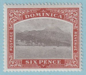 DOMINICA 30 MINT HINGED OG* NO FAULTS EXTRA FINE