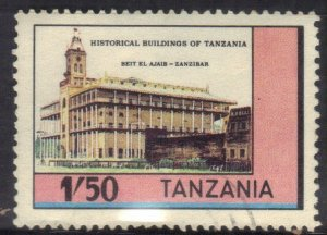 TANZANIA  SC# 234 **USED**  1.50sh  1983  HISTORICAL BUILDING  SEE SCAN