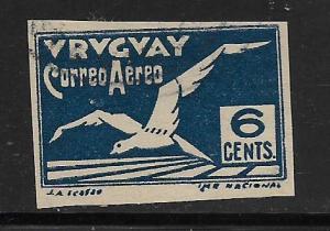 URUGUAY, C10, USED, ALBATROSS