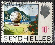 Seychelles: 1969 Sc. # 258, O/Used Single Stamp