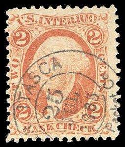 U.S. REV. FIRST ISSUE R6c  Used (ID # 95269)