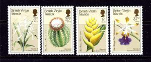 Virgin Is 585-88 MNH 1987 Botanical Garden