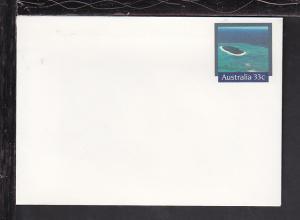 Australia Landscape Postal Envelope Unused