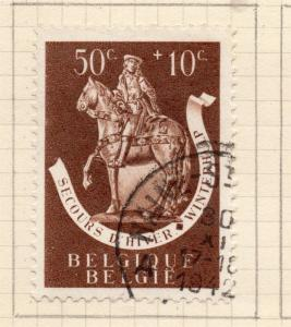 Belgium 1942-43 Early Issue Fine Used 50c. 251810