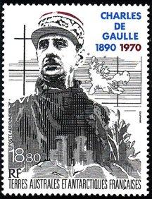 Scott #C117 Charles de Gualle MNH