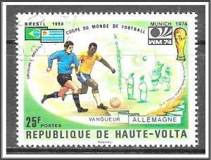 Upper Volta #336 World Cup Soccer CTO