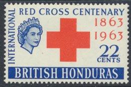 British Honduras SG 216 SC # 181 MLH  Red Cross   see scan
