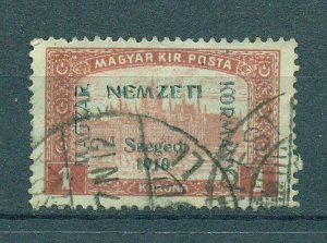 Hungary sc# 11N9 used cat value $2.25