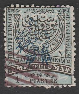 BULGARIA EASTERN ROUMELIA An old forgery of a classic stamp..................913