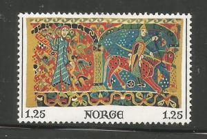 NORWAY, 687, MNH, TAPESTRY