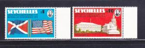 Seychelles 351-352 Set MNH American Bicentennial (A)
