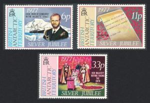 BAT Royal Silver Jubilee 3v SG#83-85