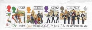 Guernsey #255-258 MNH - Stamp - CAT VALUE $3.10