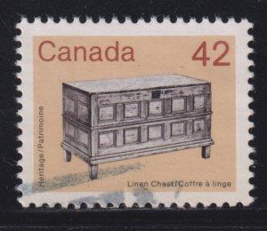 Canada 1081 Linen Chest 1987