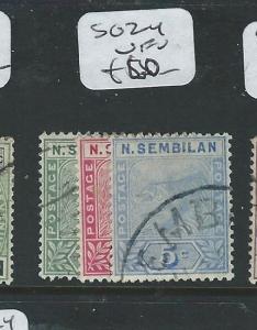 MALAYA NEGRI SEMBILAN (P0610B) 1C-5CC TIGER  SG 2-4  VFU