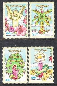 Tuvalu 653-655 Christmas MNH VF