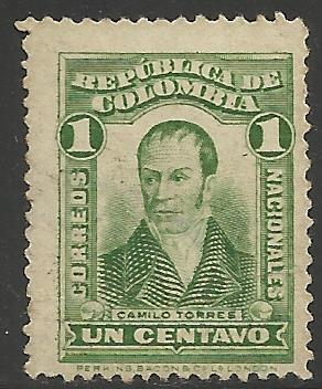 Colombia 1917 Scott# 340 Used