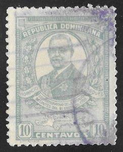 Dominican Republic #253 10c Horacio Vasquez
