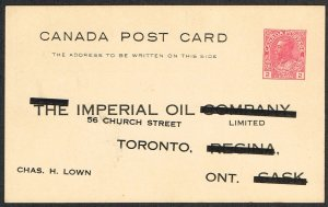 Canada Unitrade Postal Card UX33e
