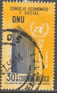 MEXICO 906, 30c Meeting of UNESCO. Used. VF. (146)
