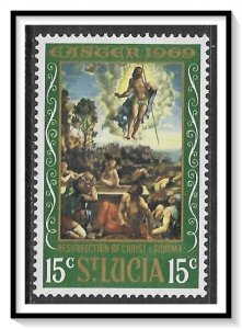 St Lucia #246 Easter Paintings MNH