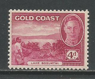 Gold Coast  #136  MH  (1948)  c.v. $4.25