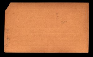 Angra 20R Postal Card Unused / Corner Damage - L11071