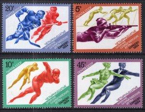 Russia MNH 5222-5 Winter Olympics