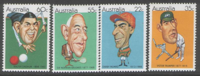 Australia 1981 Sports personalities never hinged mint SG766/