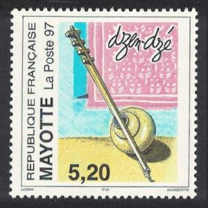 Mayotte Dzen-dze Musical Instrument 1v SG#54