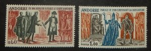 French  Andorra 159-60. 1964 History, NH
